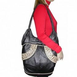 Bolso mujer piel vintage 5444